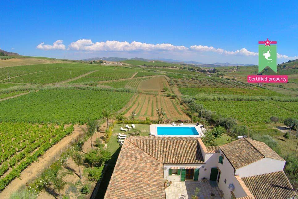 Villa Il Baglio Siciliano Alcamo 20163
