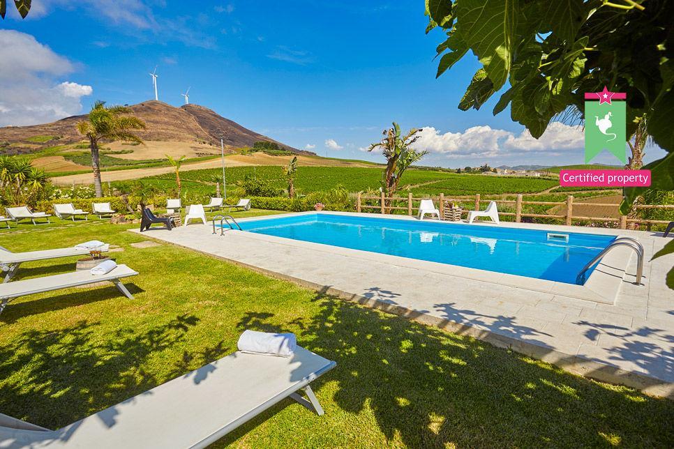 Villa Il Baglio Siciliano Alcamo 24319