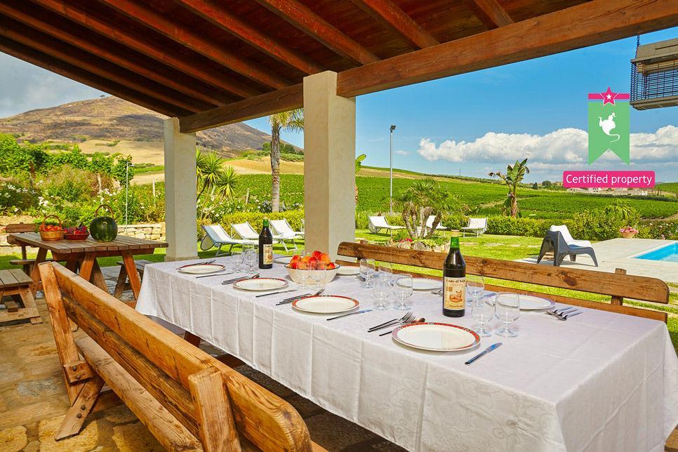Villa Il Baglio Siciliano Alcamo 24314