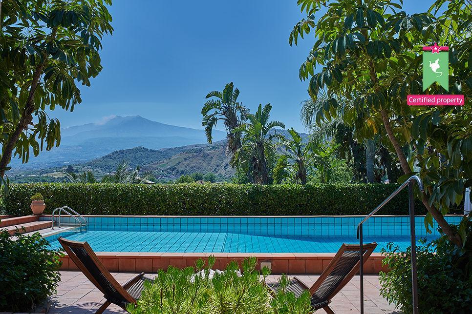Villa Calipso Taormina 25490